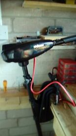 boat and engine new electric engine whith battery