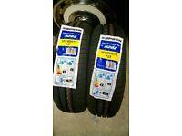 New pair car tyres 165 60 14