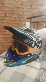 Motorcycle offroad full face helmet XL