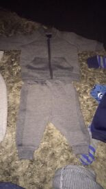 Baby Boys Clothes Bundle mostlyb3-6 months two items 0-3 1 item 6-9