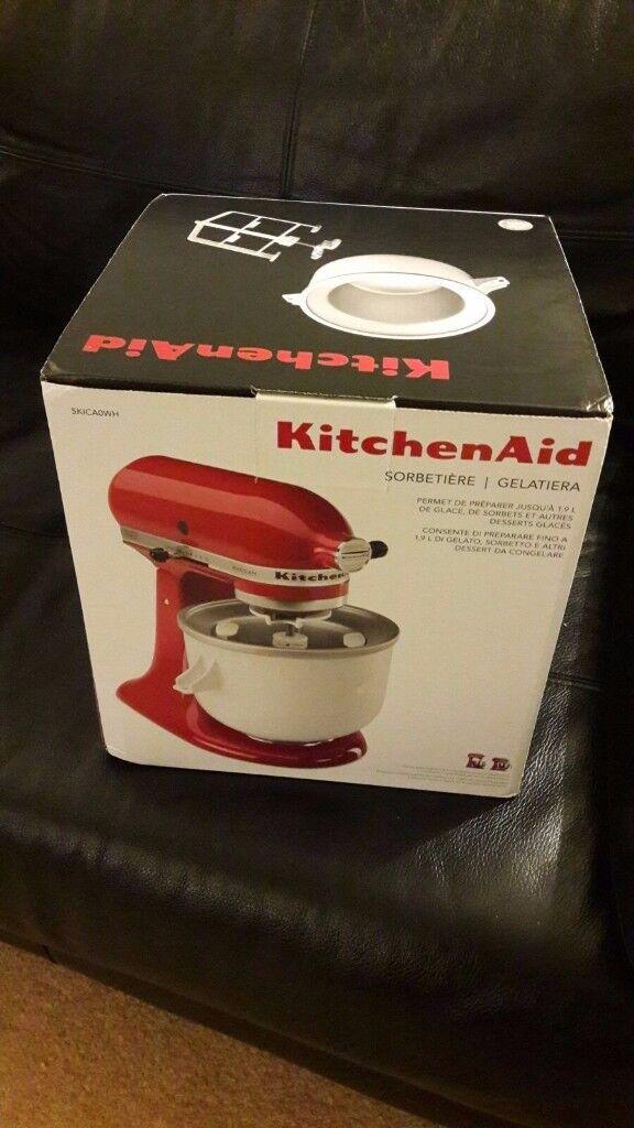 Kitchen Aid Ice Cream Maker Brand New
