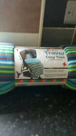 Brand new universal fleecy footmuff / cosy toes