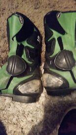 Sidi boots size 8