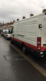 Iveco daily van 2010 with tail lift