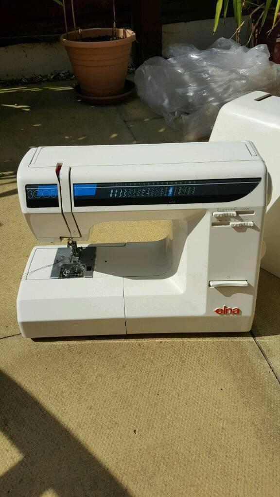 Elna 40 Sewing Machine In Stretford Manchester Gumtree Amazing Elna 3005 Sewing Machine
