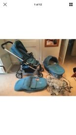 icandy Pushchair & carrycot with extras