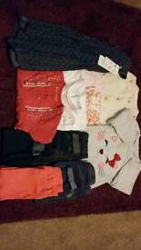 Age 6-9 months. Various girls clothes