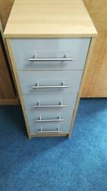 NEW Lindon Narrow 5 Drawer Chest