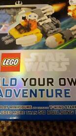 Star wars lego- build your own adventure.