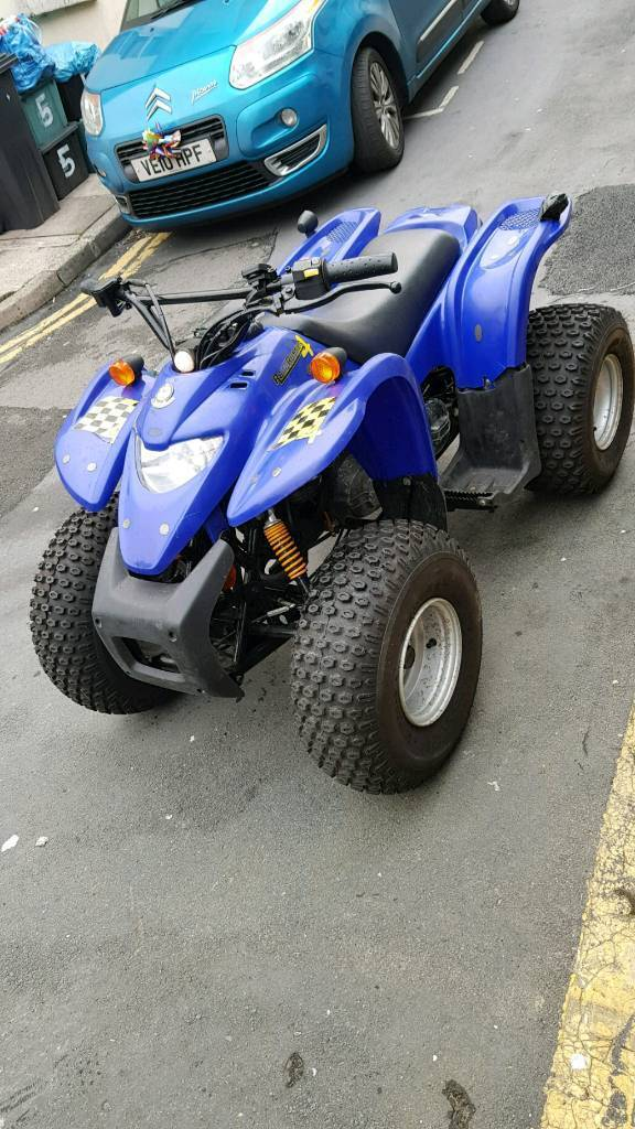 Off road 100cc quad