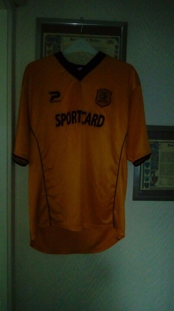 HULL CITY FOOTBALL VINTAGE HOME SHIRT 2001-2002 | in Hull, East Yorkshire |  Gumtree