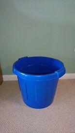Blue toy tub