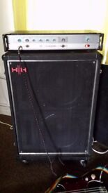 Bass amp - HH bassman with 2x15 matching cab
