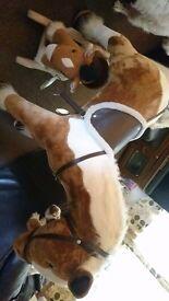 Large sit on horse