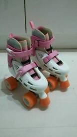 SFR Storm skates White /Pink