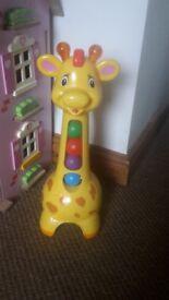 Chad Valley Popping Giraffe