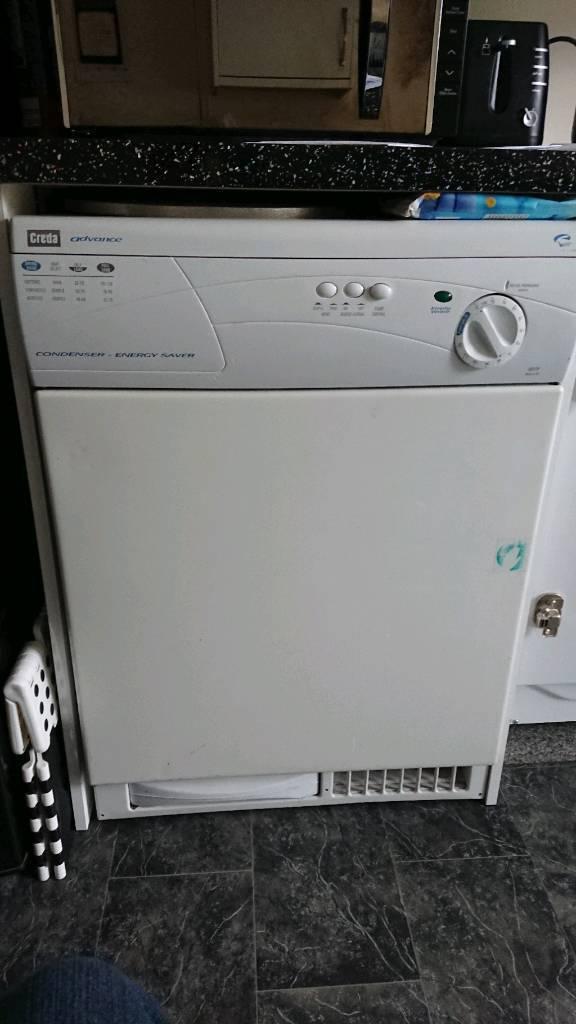 Creda advanced condencer tumble dryer