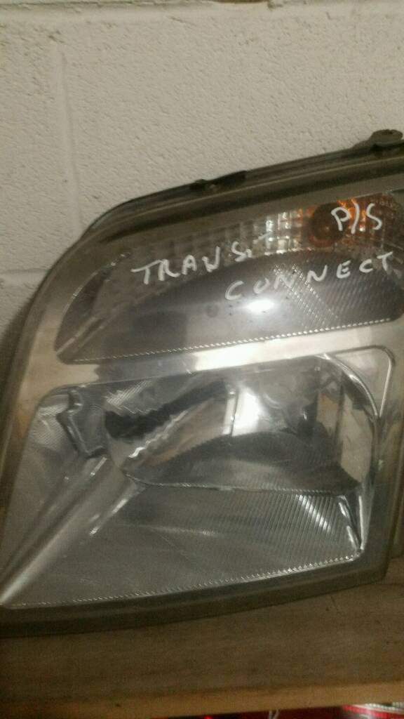 Transit connect 2 headlights for sale