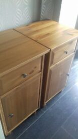 Chest drawers and bedside cabnet