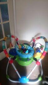 Baby jumper activity