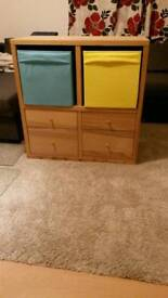 Reduced! Kallax shelving unit (IKEA), great for kids toys