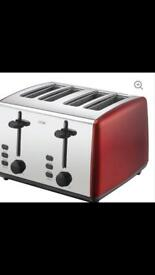 Morphy Richards 4 slices toaster