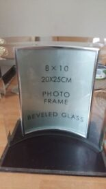 NEW Large Glass Photo Frame