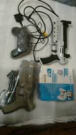 PS1 survival pack with 2 guns and wild things joy pad