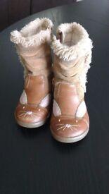 Clarke's Girls Boots (size 4 & half F)