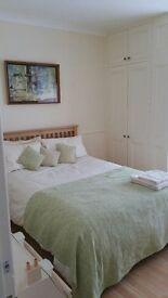 Elegant double room in family home for Mon - Fri let