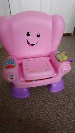REDUCED Fisher price musical chair