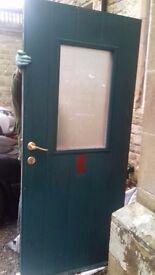 New Exterior Door with triple locks - Free