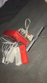 Red Limited Edition Nintendo Wii without remotes!
