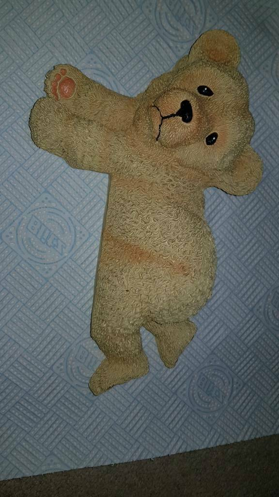 Wall hanging teddy