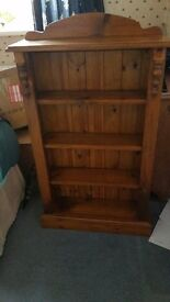 **REDUCED** Solid Wood Bookcase For Sale £75 OVNO