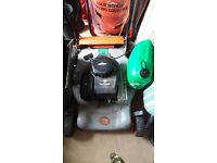 Flymo quicksilver petrol lawnmower