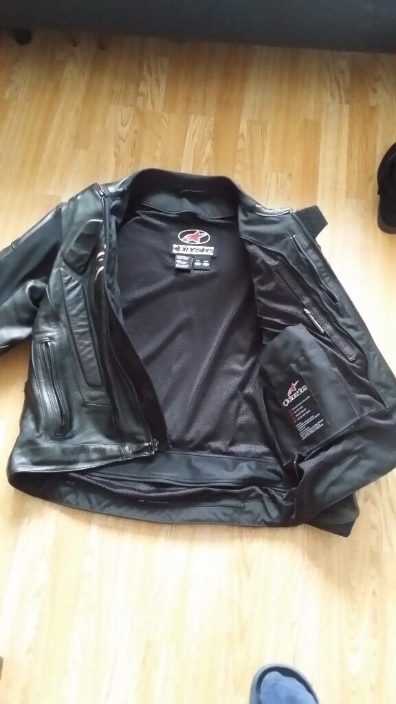 Alpinestars motorbike jacket