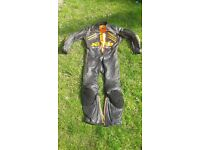 KTM Racing One Piece Leather Suit