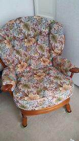 Joynson Holland Cottage chair (excellent condition)