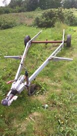 Alco galvanized chassis.