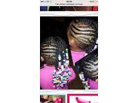 Children's Afro hairdresser