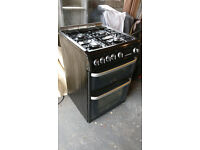 Cannon by Hotpoint Gas Double Oven and Grill