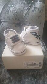 Baby armani boots