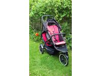 Phil & Teds Explorer double pushchair buggy