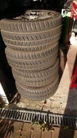 Avon ice touring 225/45R17 winter tyres