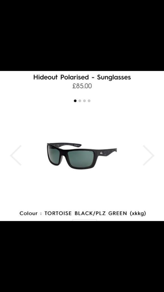 Quiksilver Hideout polarised sunglasses