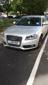 2009 Audi A3 S-line Automatic 5 door 1.4 not golf , polo ,