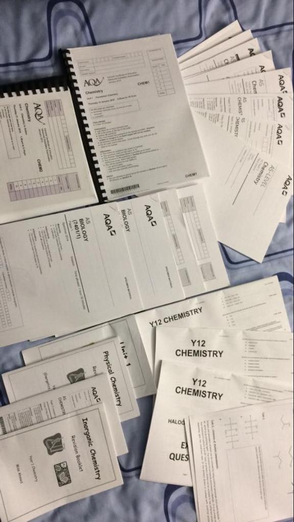 CHEAPEST AS CHEMISTRY PAST PAPERS + NIKE BAG | in Bradford, West Yorkshire  | Gumtree
