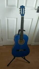 Kids 3/4 Size Guitar ( Lauren 50N-BL )