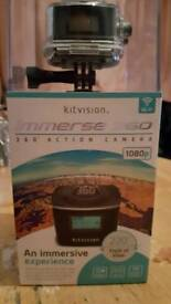 Kitivsion immerse action camera